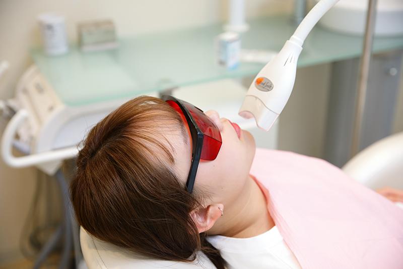 オフィスホワイトニング(クリニックで行う方法)|千葉のアミーズ歯科クリニック